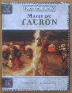 Dungeons & Dragons 3.0 Magie de faerûn (2002) de collection rare