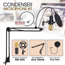 BM800 Condenser Microphone Kit Studio Suspension Boom Scissor Arm Stand Sound AU