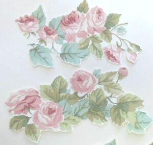 5 laura ashley vintage rose tapete decoupage st cke m bel. Black Bedroom Furniture Sets. Home Design Ideas