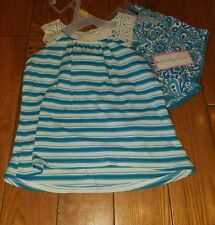 NWT Girls EMILY ROSE Blue summer spring Outfit Size 3T