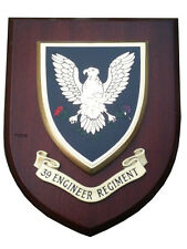 39th Regiment Royal Engineers Military Shield Wall Plaque