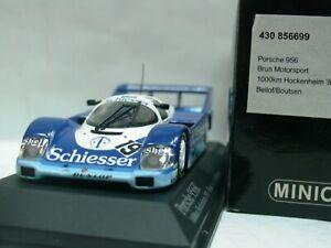 Wow extrêmement rare Porsche 956k # 19 Bellof Hockenheim 1985 1:43 Minichamps-962 4012138070820