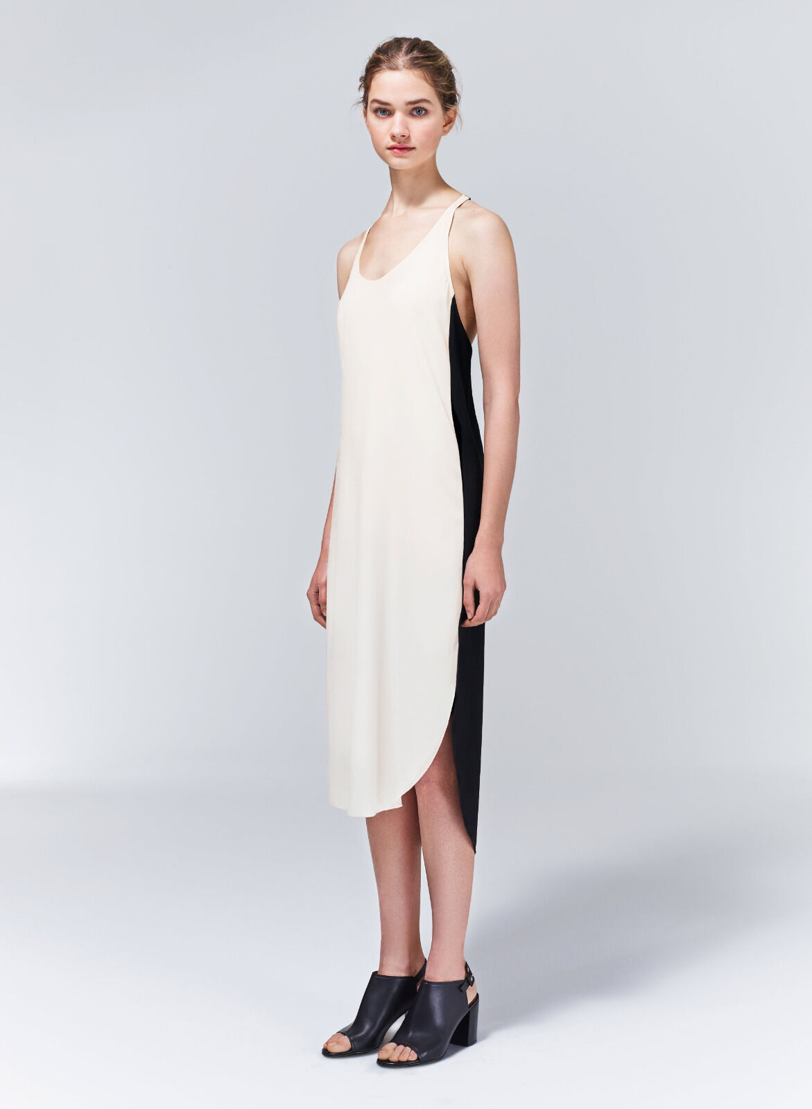 NWT (Two Tone) Wilfred Colonne Dress Sz XS (retail )