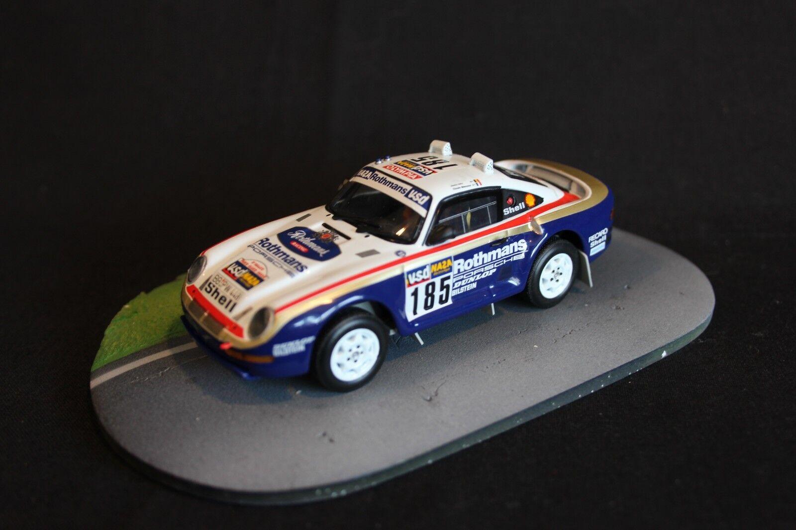artículos de promoción Minichamps Porsche 959 1996 1996 1996 1 43  185 Ickx   Brasseur Dakar Rally (AK)  venta caliente