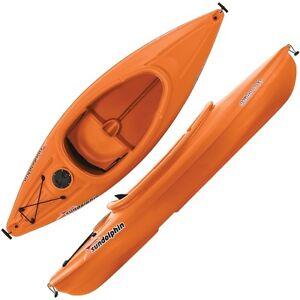 8 ft kayak canoe fishing lakes rivers streams paddles w for Dicks fishing kayak