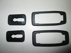 PORSCHE 924 924S 944 DOOR HANDLE GASKETS NEW AND GENUINE PORSCHE ...