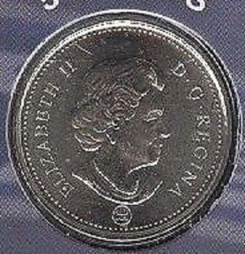 2008 RCM Logo Nickel 5 Five Cent /'08 Canada BU Coin UNC