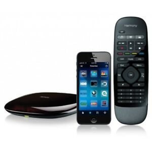Logitech Harmony Smart Control All In One Remote with Hub & Smartphone App Black