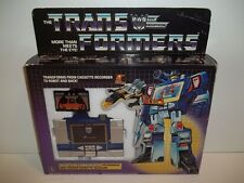 1984 Transformers G1 PreRub **SOUNDWAVE** w/ Box Complete MIB Unused Stickers!!
