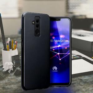 Huawei-Mate-20-LITE-Case-Shockproof-Hybrid-Soft-Gel-Case-Black-XM21