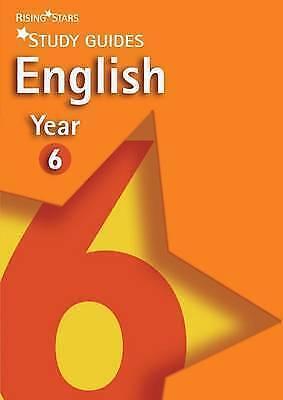 """AS NEW"" various, Rising Stars Study Guides: English Years 6 (Rising Stars Study"