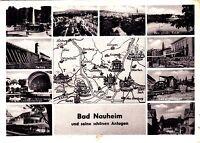 Bad Nauheim  , Ansichtskarte, gelaufen