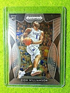 ZION-WILLIAMSON-ROOKIE-CARD-PANINI-PRIZM-RC-PELICANS-2019-DUKE-JERSEY-1-Prizm-DP