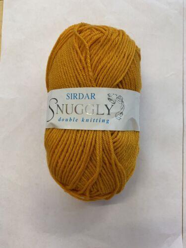 Sirdar Snuggly DK Shade 0455-beurre Tubs 50 G Ball