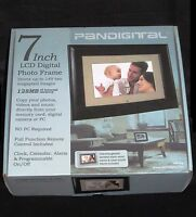 Pandigital Pan701 7 Digital Picture Frame With Remote - 100% Brand In Box