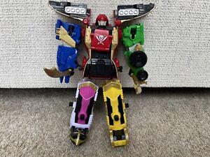 Power Rangers Super Megaforce Legendary Megazord Incomplete