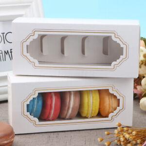 5-10PCS-Macaron-Box-Chocolate-Box-Cake-Pastry-Cases-Sweets-Gift-Box-10-PACK