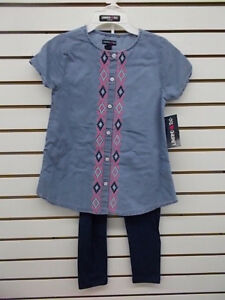 Filles Limited Too $39.00 Vareuse Shirt & Leggings Set Tailles 3-6mth. - 12 Filles-afficher Le Titre D'origine Luxuriant In Design