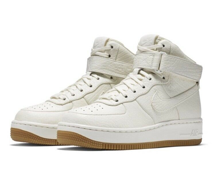 Nike NikeLab AF1 Upstep Hi Pinnacle Leather 857665-100 UK 7.5 EU 42 US 10 New