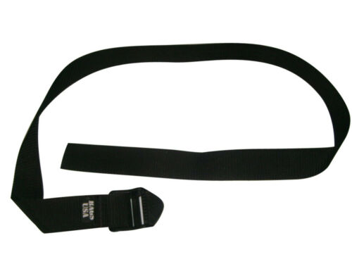 """Tie Down strap With Heavy duty 2/"""" Ladderlock buckle,,box strap Made in USA."""
