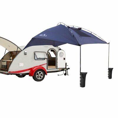 Waterproof Teardrop Trailer Awning Sun Shelter SUV Awning ...