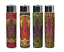 4-Ct-CLIPPER-Flint-Lighters-Refillable-LEAVE-WEED-LEAF-CORK-COVER-HAND-SEWN thumbnail 2