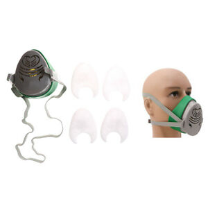 Fire Respirators Cheap Price N3800 Anti-dust Facepiece Filter Paint Spraying Cartridge Respirator Gas Mask A Great Variety Of Models Back To Search Resultssecurity & Protection