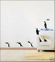 Penguin Home/Bathroom Removable Mural Wall Stickers