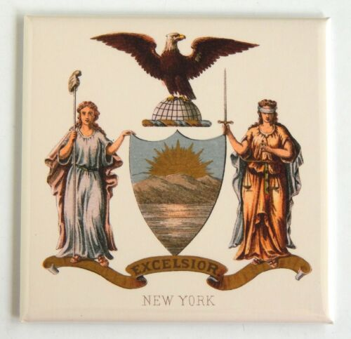 New York Coat of Arms FRIDGE MAGNET