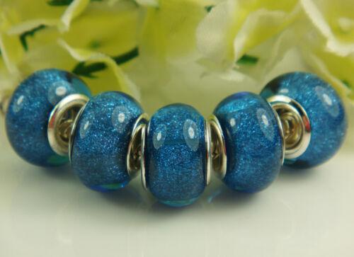 hot DIY BEAD Beautiful fit European Charm Bracelet Wholesale Lots besdes gift #