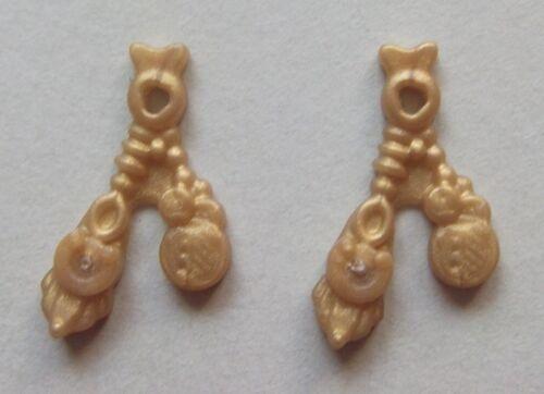 Pirat 16912 2x Hutschmuck Münze gold