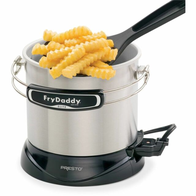 Presto Frydaddy Elite 05426 Deep Fryer Ebay