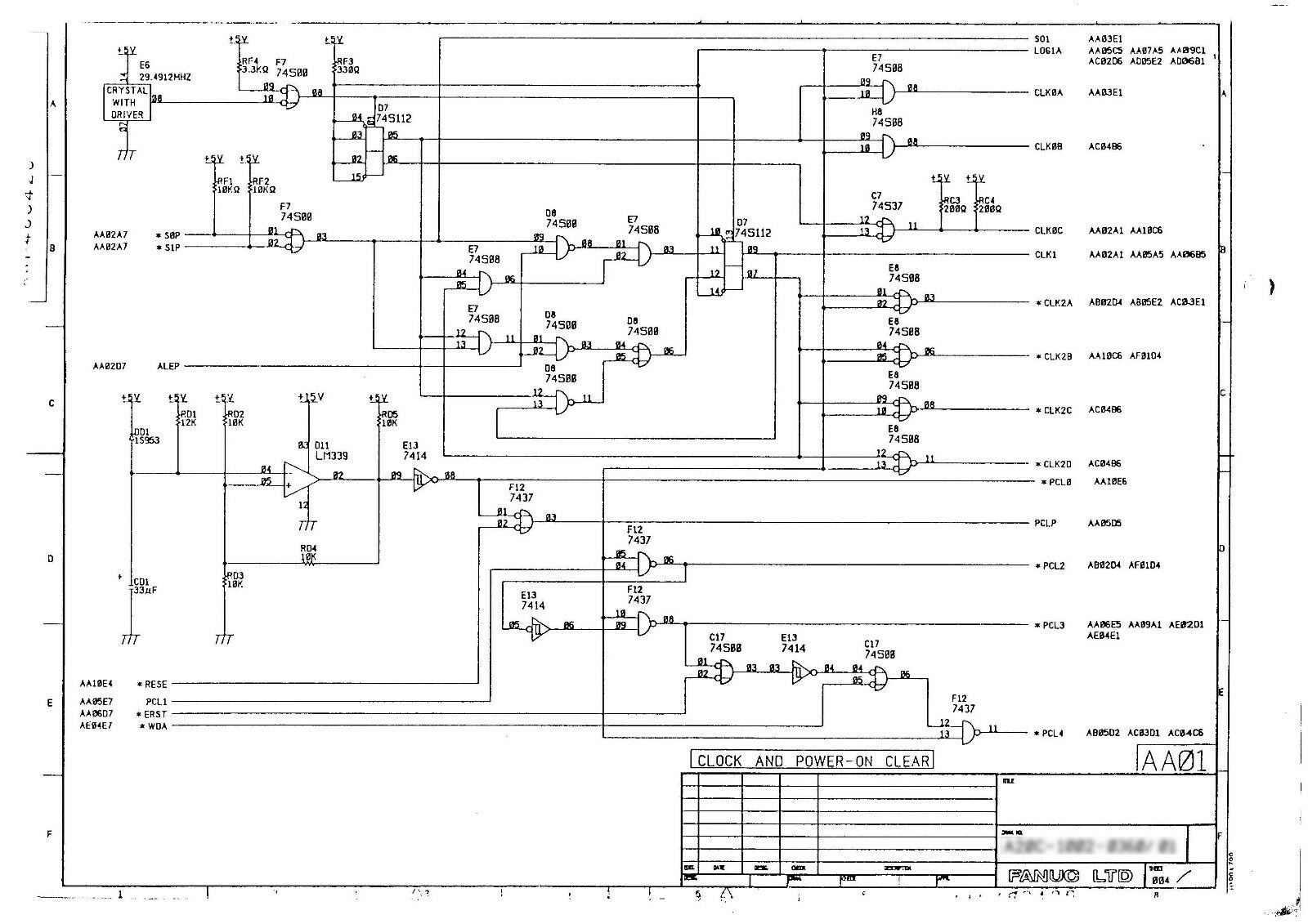 Fanuc Wiring Diagrams Free Download Wiring Diagram Schematic