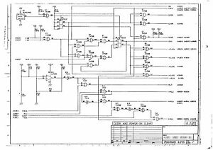 FANUC A16B-1212-0210 Schematic circuit diagram of Memory board Model ...