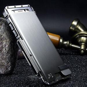 Samsung Galaxy Luxury Rugged Armor Metal Aluminum Hybrid ...