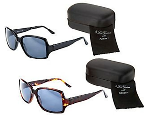 Set of 2 Neox Folding Sunglasses /& Compact Cases by Lori Greiner Black//Tortoise