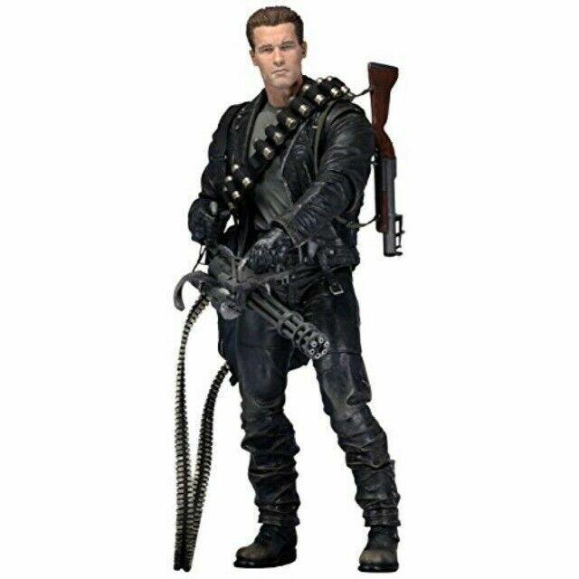 Neca T 800 Terminator 2 Judgement Day Action Figure For Sale Online Ebay