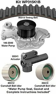 Dayco WP271K1C Engine Timing Belt Kit with Water Pump