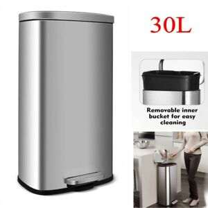 Step On Trash Can 8 Gal Rubbermaid