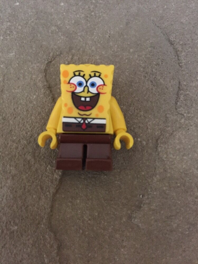 Spongebob Lego Mini Figure Spongebob