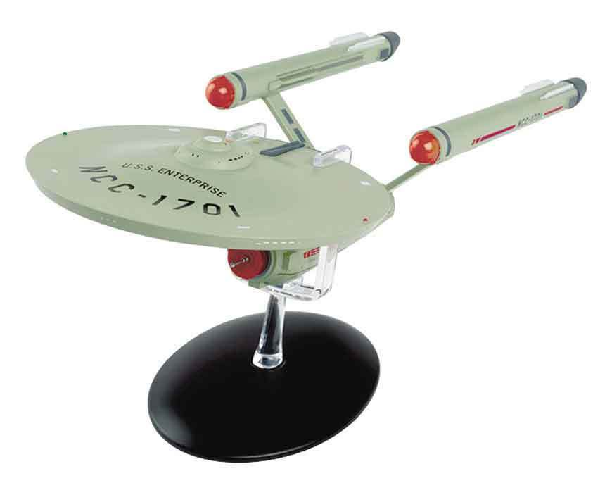 Eaglemoss Star TREK STMG01 USS ENTERPRISE NCC-1701 SHIP SPECIAL LARGER SIZE 11