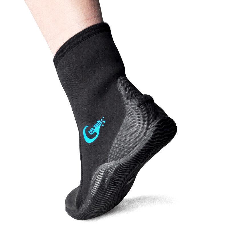 5mm Neoprene Wetsuit Boot shoes Non-slip Boots Scuba Diving Snorkeling Booties