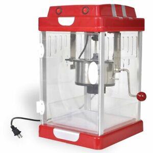 Image Is Loading Vidaxl Popcorn Popper Machine Maker Bar Table Party