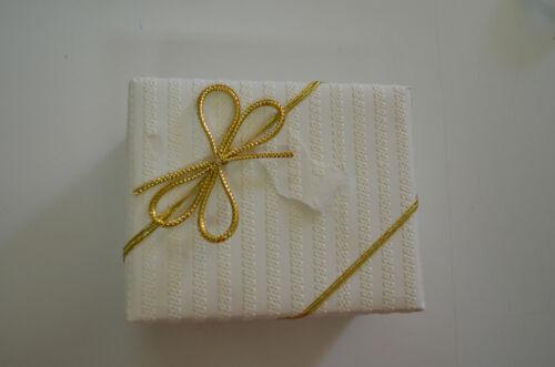 gold 10 x  praktische Elastische Schleife silber Gummbandschleife elastik