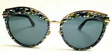 99523e5790a item 2 New Christian Dior OFFSET 2 9N7 2K Yellow Blue Tweed Pattern Black  Grey 55mm -New Christian Dior OFFSET 2 9N7 2K Yellow Blue Tweed Pattern  Black Grey ...