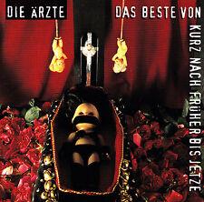 DIE ÄRZTE - 2 CD - DAS BESTE VON KURZ NACH FRÜHER BIS JETZE