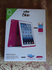 New iSkin Solo Smart Case PINK for iPad 2, 3 Wholesale in genuine box sealed