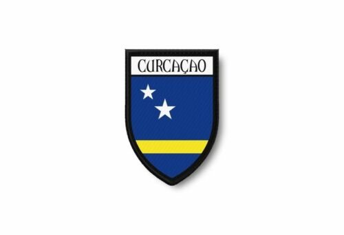 Aufnäher Flicken Termocollant Bord Brode Flagge Bedruckt; Curacao
