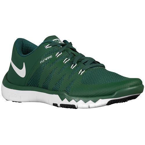 Nike libera trainer v6 tb uomini di formazione / run scarpe 723987 300 verde / bianco 15