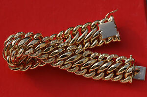 Bracelet gourmette americaine